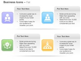 Business Service Team Management Idea Generation Ppt Icons Graphics
