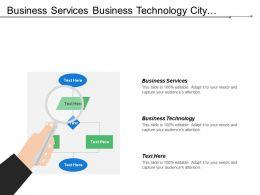 Business Services Business Technology City Planning Design Services Citizens