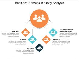 Business Services Industry Analysis Ppt Powerpoint Presentation Slide Cpb