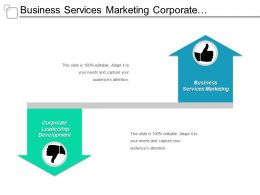 Business Services Marketing Corporate Leadership Development Data Management Cpb