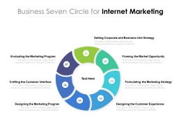 Business Seven Circle For Internet Marketing