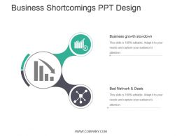 Business Shortcomings Ppt Design