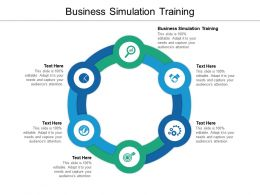 Business Simulation Training Ppt Powerpoint Presentation Infographic Template Graphics Cpb