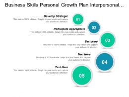 Business Skills Personal Growth Plan Interpersonal Effectiveness Competency Cpb
