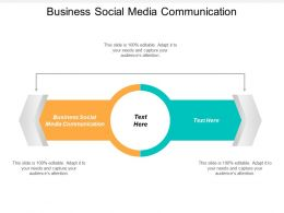 Business Social Media Communication Ppt Powerpoint Presentation Layouts Design Cpb