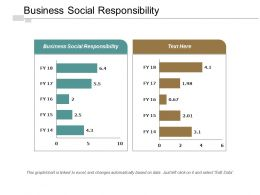 Business Social Responsibility Ppt Powerpoint Presentation Pictures Show Cpb