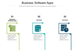 Business Software Apps Ppt Powerpoint Presentation Summary Visual Aids Cpb