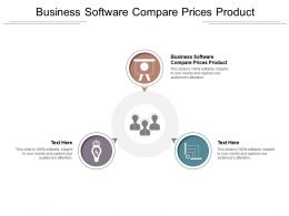 Business Software Compare Prices Product Ppt Powerpoint Presentation Icon Slide Download Cpb