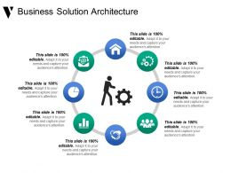 Business Solution Architecture Presentation Graphics