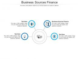 Business Sources Finance Ppt Powerpoint Presentation Summary Icons Cpb