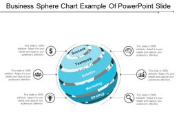 Business Sphere Chart Example Of Powerpoint Slide