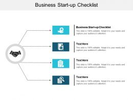 Business Start Up Checklist Ppt Powerpoint Presentation Summary Topics Cpb