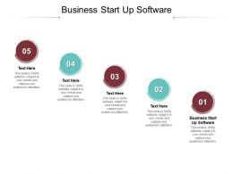 Business Start Up Software Ppt Powerpoint Presentation Icon Designs Cpb