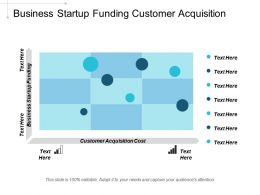 Business Startup Funding Customer Acquisition Cost Lead Generation Strategies Cpb