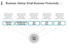 Business Startup Small Business Productivity Strategic Marketing Planning Cpb