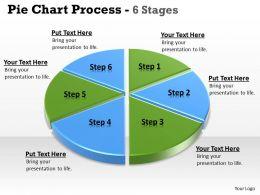 Business Statistical Pie Diagram 4