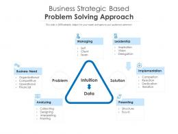 Business Strategic Based Problem Solving Approach