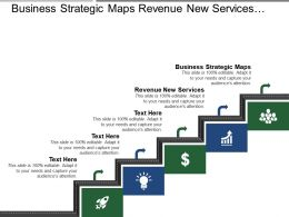Business Strategic Maps Revenue New Services Revenue New Customers