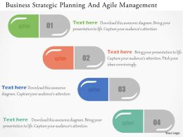 Business Strategic Planning And Agile Management Flat Powerpoint Design