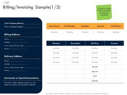 Business Strategic Planning Billing Invoicing Sample Ppt Pictures