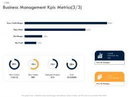 Business Strategic Planning Business Management Kpis Metrics Clients Ppt Download