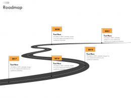 Business Strategic Planning Roadmap Ppt Brochure