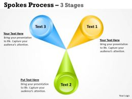 Business Strategic Spoke Diagram 3 Stages 1