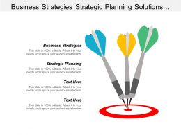 Business Strategies Strategic Planning Solutions Developing Corporate Strategy Cpb