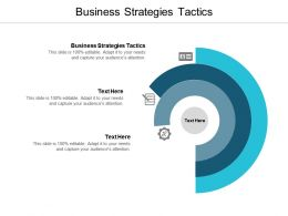 Business Strategies Tactics Ppt Powerpoint Presentation Infographics Gridlines Cpb