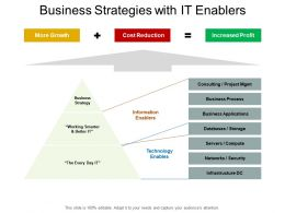 Business Strategies With It Enablers