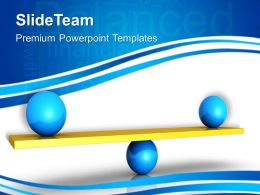 Business Strategy And Policy Powerpoint Templates Balance Image Ppt Slides