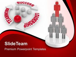Business Strategy And Policy Templates Leadership Teamwork Success Ppt Powerpoint