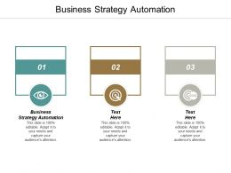 Business Strategy Automation Ppt Powerpoint Presentation Portfolio Professional Cpb
