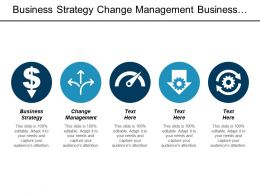 Business Strategy Change Management Business Model Procurement Strategies Cpb