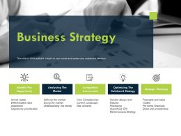 Business Strategy Competitive Assessment Planning Ppt Powerpoint Presentation Layouts Layouts