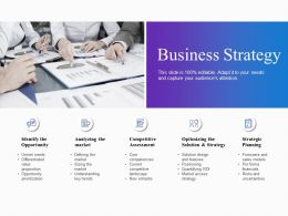 Business Strategy Competitive Assessment Ppt Powerpoint Presentation Show Microsoft