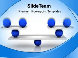 Business Strategy Consultants Powerpoint Templates Equally Balanced Ppt Design