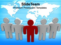 Business Strategy Consultants Templates Teamwork Success Global Leadership Ppt Powerpoint