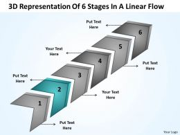 business_strategy_consulting_3d_representation_of_6_stages_linear_flow_powerpoint_slides_0522_Slide03