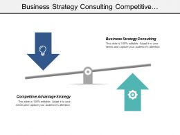 Business Strategy Consulting Competitive Advantage Strategy Customer Reviews Cpb