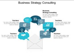 Business Strategy Consulting Ppt Powerpoint Presentation Styles Designs Cpb