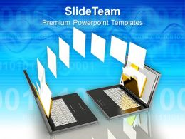 Business Strategy Consulting Templates Data Transfer Technology Success Ppt Process Powerpoint