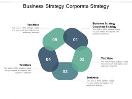 Business Strategy Corporate Strategy Ppt Powerpoint Presentation Model Cpb