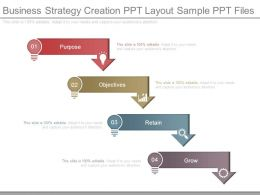 Business Strategy Creation Ppt Layout Sample Ppt Files