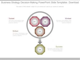 Business Strategy Decision Making Powerpoint Slide Templates Download