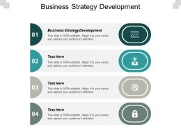 Business Strategy Development Ppt Powerpoint Presentation Gallery Mockup Cpb