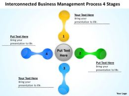 Business Strategy Diagram Process 4 Stages Powerpoint Templates PPT Backgrounds For Slides