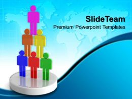 Business Strategy Diagram Teamwork Success Ppt Design Slides Powerpoint Templates