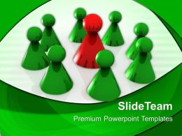 Business Strategy Diagram Templates Team Leadership Success Ppt Theme Powerpoint