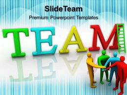 Business Strategy Diagram Templates Team Ppt Slides Powerpoint